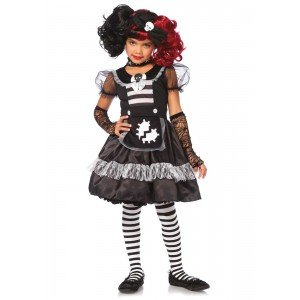 Costume Halloween Bambina Rebel Rag Doll - Leg Avenue