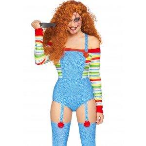 Costume Halloween Bambola Assassina - Leg Avenue