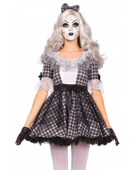 Costume Halloween Bambola di Porcellana - Leg Avenue