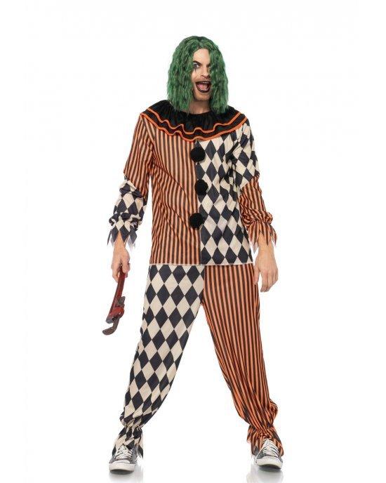 Costume Halloween Creepy Circus Clown - Leg Avenue