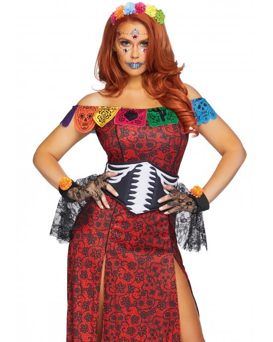 Costume Halloween Deluxe Day of the Dead Beauty - Leg Avenue