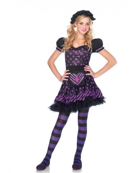 Costume Halloween Jr. Dark Dollie - Leg Avenue