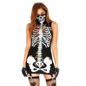 Costume Halloween Ossa e Rose - Leg Avenue