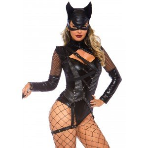 Costume Halloween Sexy Cat Woman - Leg Avenue