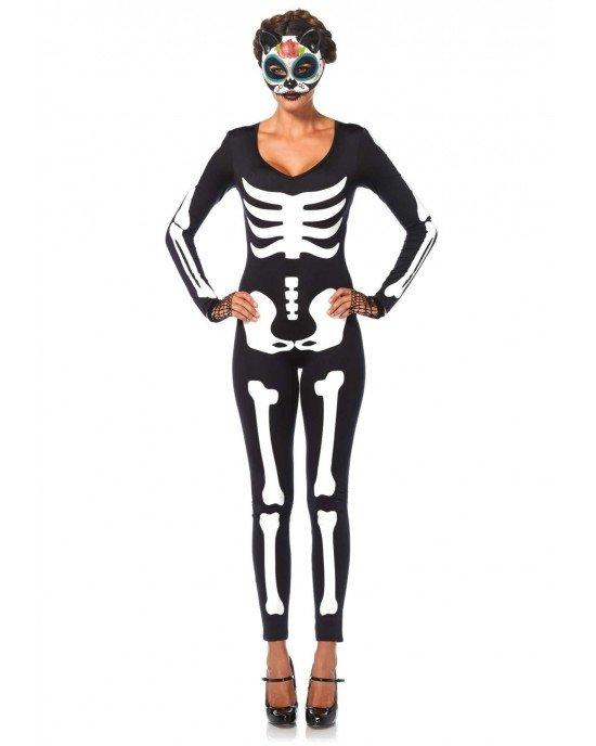 Costume Halloween Skeleton Catsuit - Leg Avenue