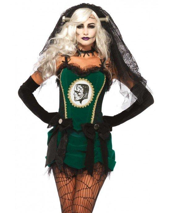 Costume Halloween Sposa di Frankenstein - Leg Avenue