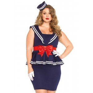 Costume marinaia Amy XL/XXL - Leg Avenue