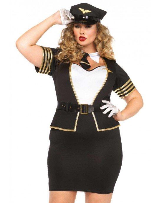 """Costume da pilota di volo XL-XXL """"Mile High Pilot"""""""