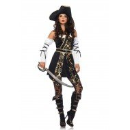 Costume Black Sea Buccaneer L - Leg Avenue