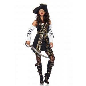 Costume Black Sea Buccaneer S - Leg Avenue