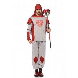 Costume Card Guard grigio/rosso XL - Leg Avenue