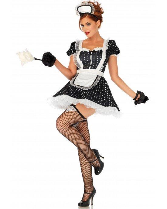 Costume Frisky French maid S/M - Leg Avenue