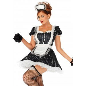 Costume Frisky French maid S/M - Leg Avenue