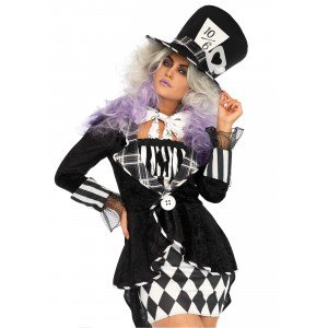 Costume Wonderland Mad Hatter S/M - Leg Avenue