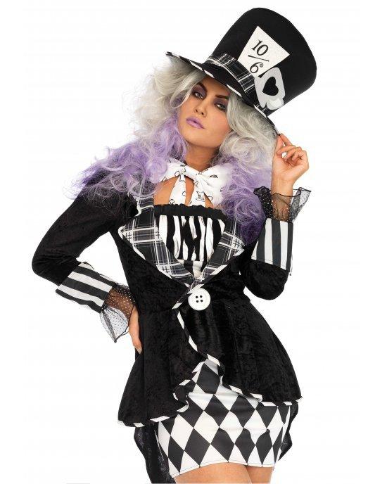 Costume Wonderland Mad Hatter M/L - Leg Avenue