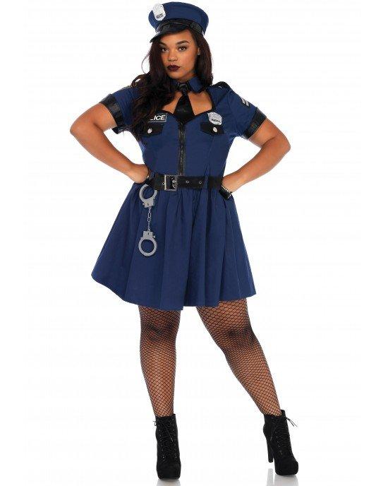 Costume Flirty Cop 1X/2X - Leg Avenue