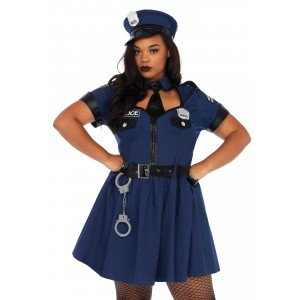 Costume Flirty Cop 3X/4X - Leg Avenue