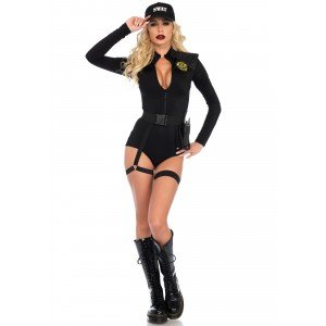 Costume SWAT Team Babe XS - Leg Avenue