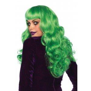 Parrucca Misfit verde ondulata - Leg Avenue