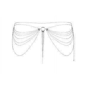 Catena gioiello argentato per fianchi - Bijoux Indisxcrets