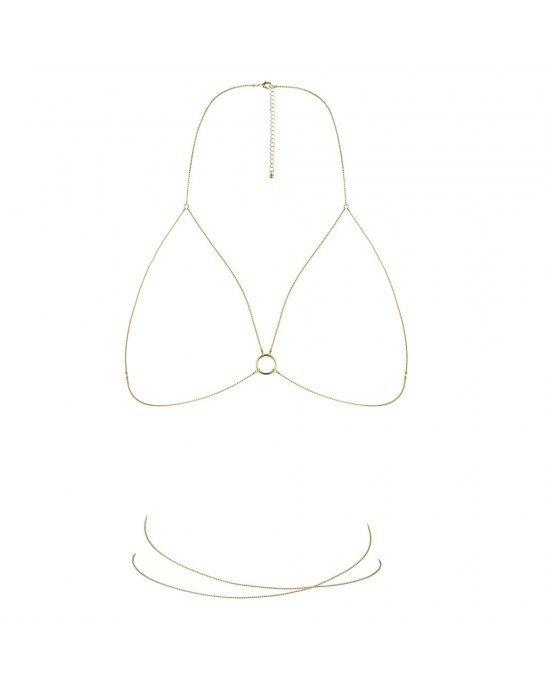 Reggiseno gioiello oro - Bijoux Indiscrets