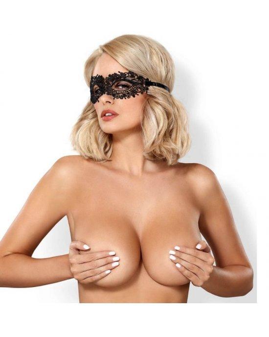 A710 Maschera nera per gli occhi - Obsessive
