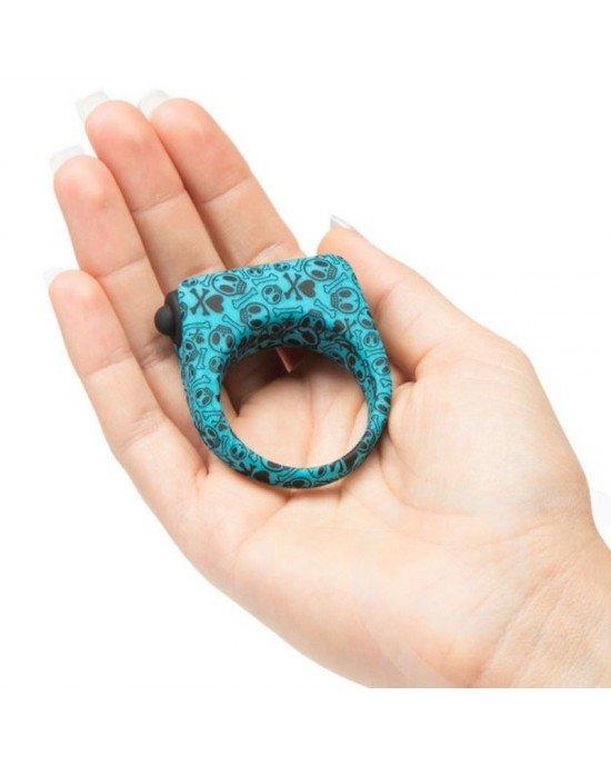Anello vibrante blu - Tokidoki