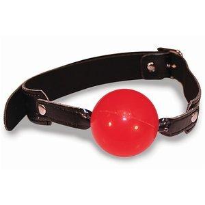 Ball Gag nera e rossa - Sex & Mischief