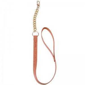 Collare marrone con catena - Bijoux Indiscrets
