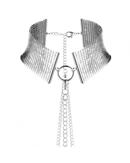 Collare metallico argento - Bijoux Indiscrets