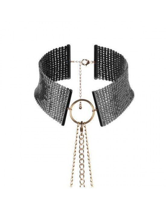 Collare metallico nero - Bijoux Indiscrets