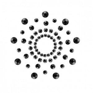 Copricapezzoli neri - Bijoux Indiscrets