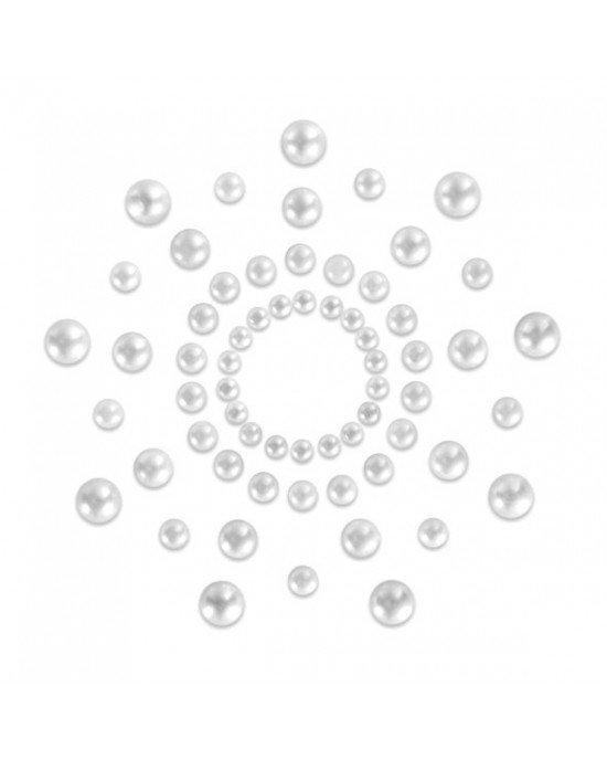 Copricapezzoli perla - Bijoux Indiscrets