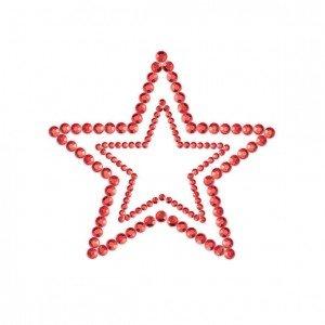 Copricapezzoli rossi a stella - Bijoux Indiscrets