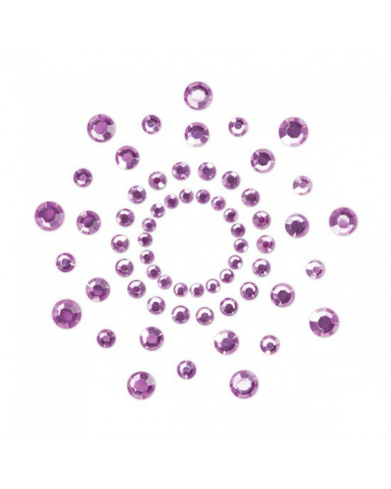 Copricapezzoli viola - Bijoux Indiscrets