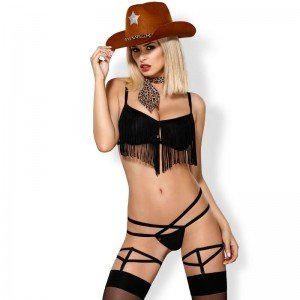 Costume 832-CST-1 Cowgirl S/M - Obsessive