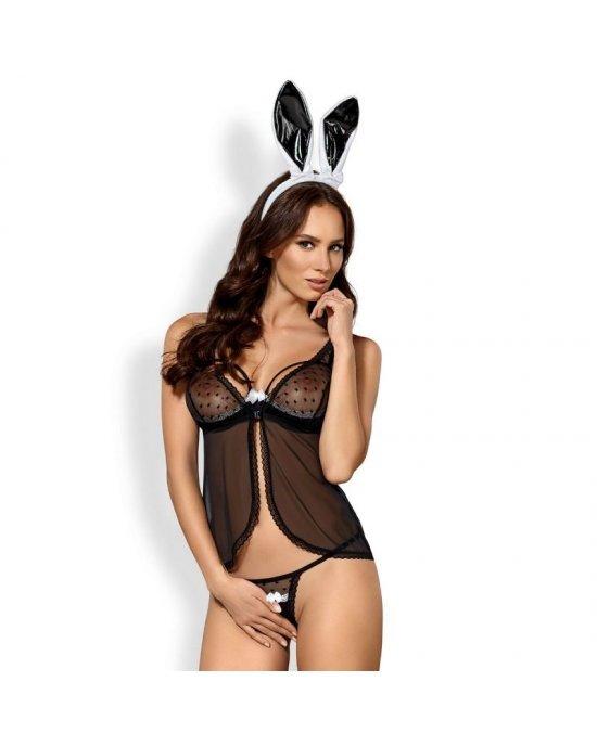 Costume Coniglietta sexy 815-CST-1 L/XL - Obsessive