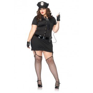 "Costume da poliziotta XL-XXL ""Dirty Cop"" - Leg Avenue"