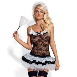 Costume HouseMaid L/XL - Obsessive