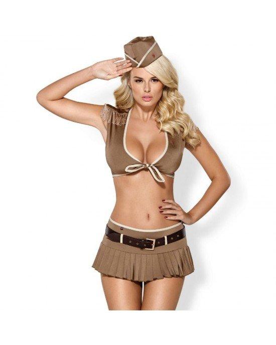 Costume militare 814-CST-4 S/M - Obsessive