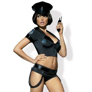 Costume Police set S/M - Obsessive