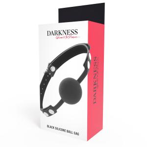 Darkness - Morso in silicone nero