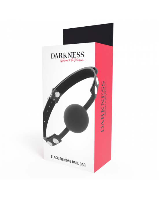Darkness - Morso in silicone nero