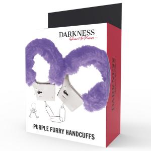 Manette pelose lilla - Darkness