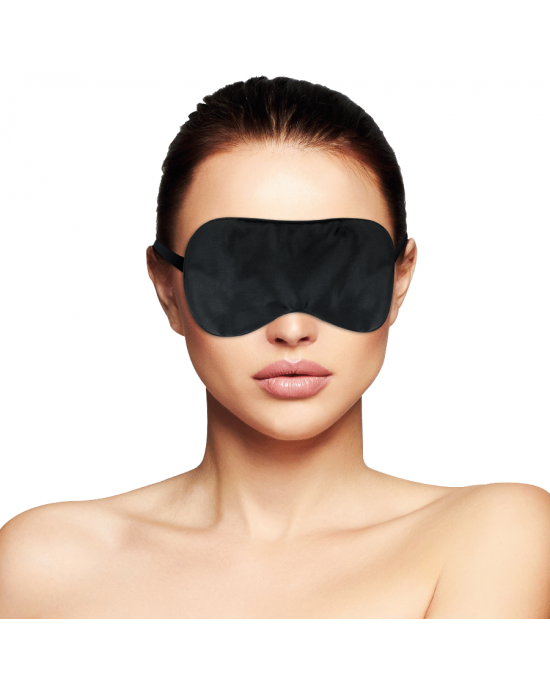 Maschera per occhi nera Basic - Darkness