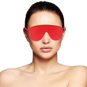 Maschera per occhi rossa Alta Qualità - Darkness