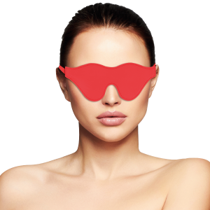 Maschera per occhi rossa - Darkness