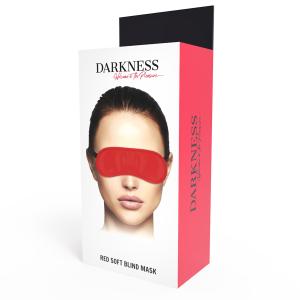 Mascherina per occhi rossa - Darkness