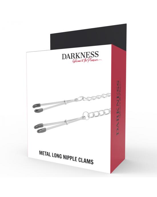Morsetti per capezzoli in metallo - Darkness