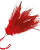 Piumino rosso 17cm - Darkness
